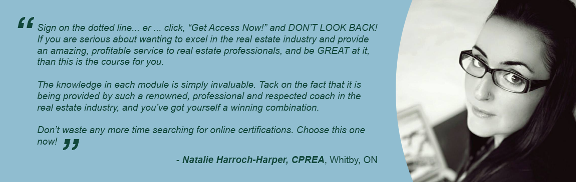 Testimonial from Natalie Harroch